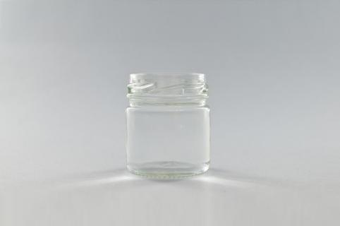 Glas pot 42ml transparant